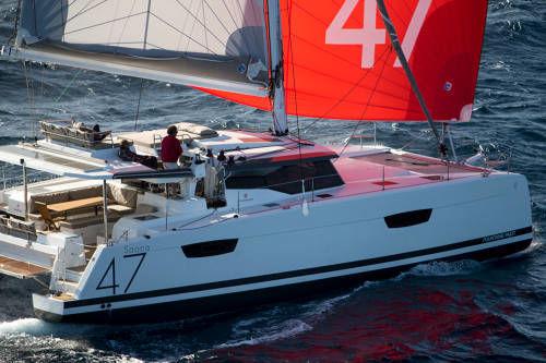 bateau catamarans neuf fountaine pajot saona 47 en vente  u00e0
