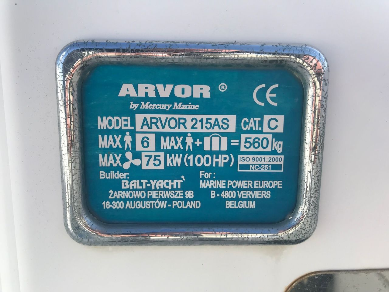 photo - ARVOR 215 AS