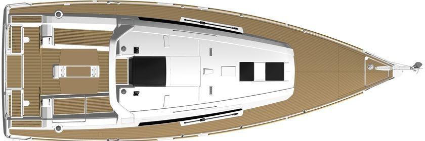 bateau voiliers neuf beneteau oceanis 38 1 en vente  u00e0