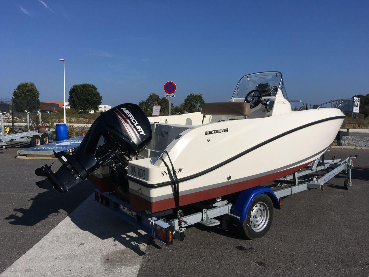 bateau voiliers occasion quicksilver quicksilver activ 505