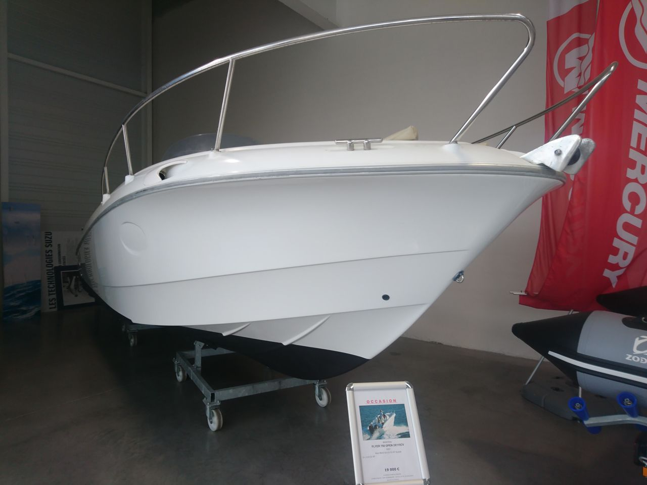 BENETEAU FLYER 750 OPEN 2X115CV