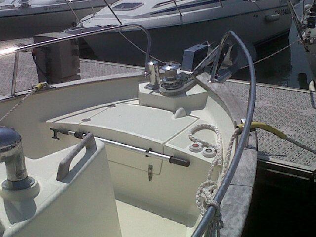 bateau inboard occasion rha marine rhea 750 timonier en